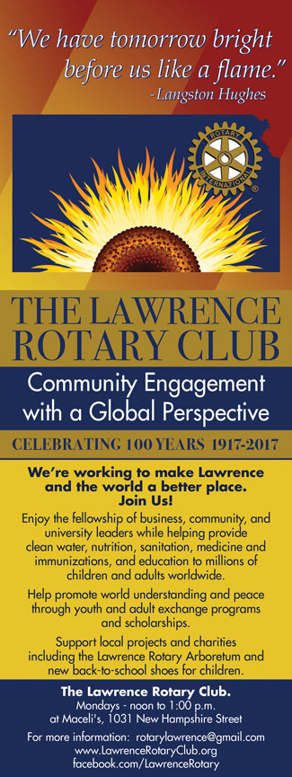 The Lawrence Rotary Club 2016Q4