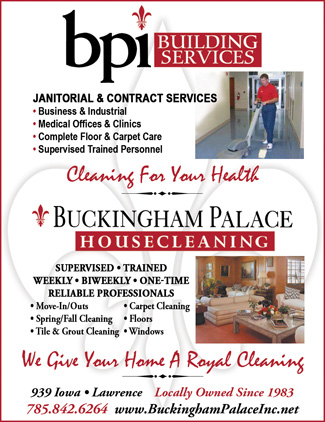 BPI Building Services – Buckingham Palace Housecleaning 2016Q4