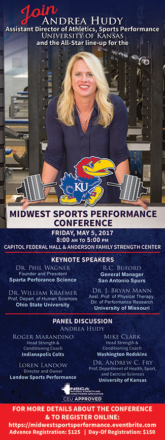 Midwest Sports Performance Conference 2017Q1